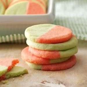 Two-Tone Butter Cookies