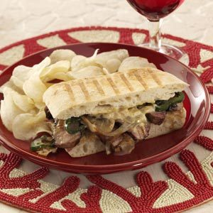 Triple Pepper Steak Sandwiches Recipe