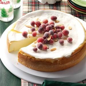 Amaretto Ricotta Cheesecake Recipe