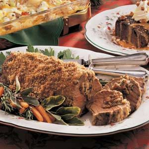 Mushroom-Stuffed Tenderloin Recipe