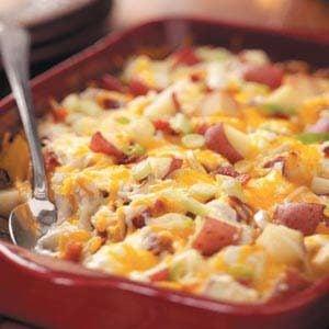 Twice-Baked Potato Casserole Recipe