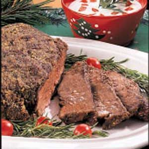 Herb-Crusted Chuck Roast Recipe