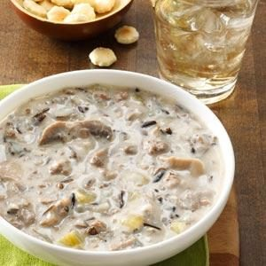 Beefy Wild Rice Soup Recipe