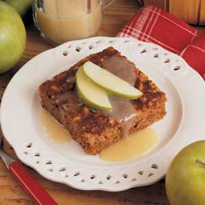 Saucy Apple Cake Recipe