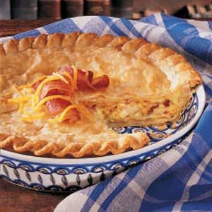 Cheesy Onion Pie Recipe