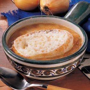 French Onion Soup with Provalone Recipe