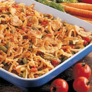 Six-Veggie Casserole Recipe