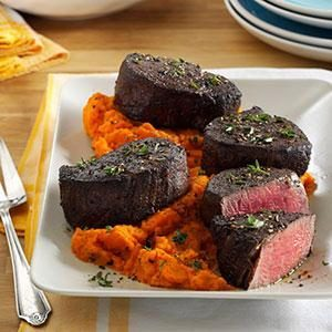 Cocoa-Crusted Beef Tenderloin Recipe