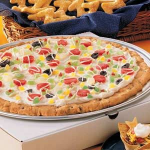 Slumber Party Cookie Pizza Recipe