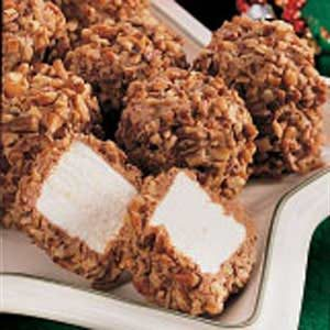Nutty Chocolate Marshmallow Puffs Recipe