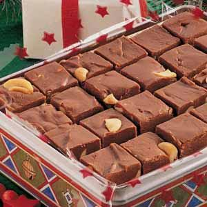 Cashew Caramel Fudge Recipe