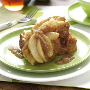 Overnight Apple French Toast Recipe