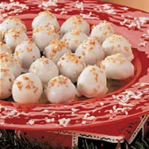 Toasted Coconut Truffles Recipe