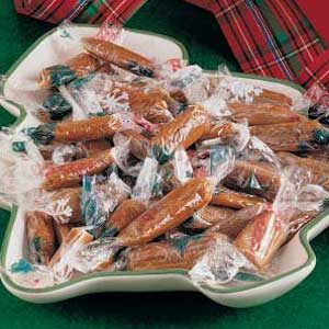 Pulled Molasses Taffy Recipe