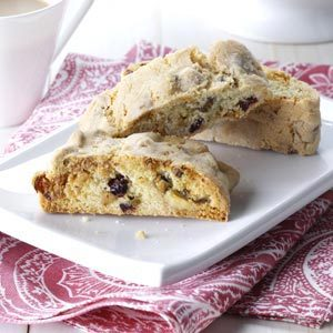 White Chocolate Pistachio and Cranberry Biscotti Recipe