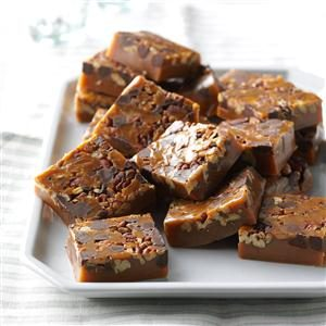 Chocolate Pecan Caramels Recipe