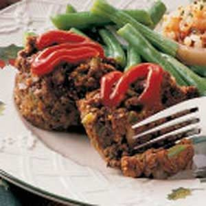 Meat Loaf Muffins Recipe
