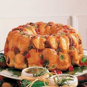 Bubble Bread Wreath