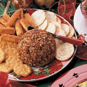 Christmas Cheese Ball Recipe