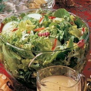 Herbed Fresh Tossed Salad Recipe
