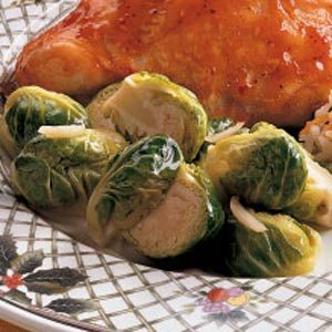 Garlic Brussels Sprouts Recipe