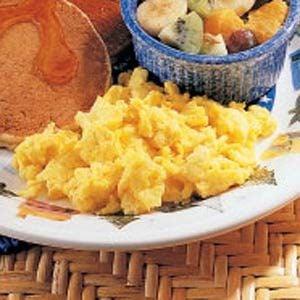 Scrambled Homemade Egg Substitute Recipe