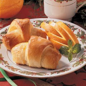 Orange Crescents Recipe