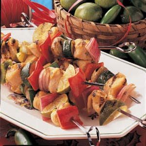 Turkey Lime Kabobs Recipe