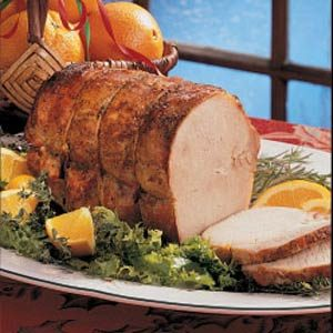 Orange-Glazed Pork Loin