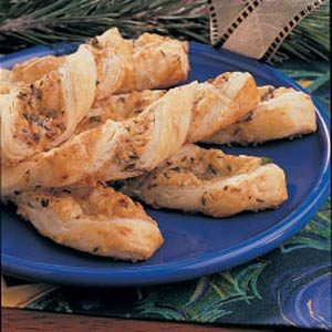 Crisp Caraway Twists Recipe