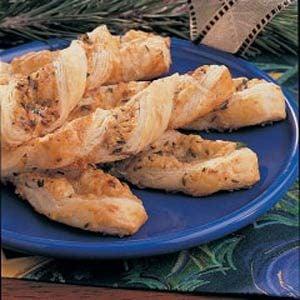 Crisp Caraway Twists Recipe