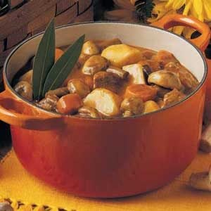 Quick Mushroom Stew Recipe photo by Taste of Home