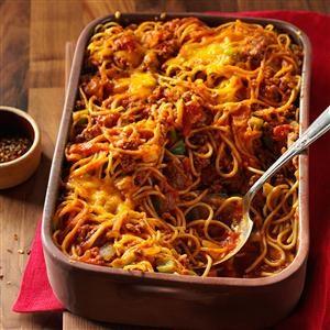 Confetti Spaghetti Recipe