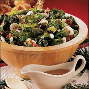 Lettuce Salad with Warm Dressing Recipe