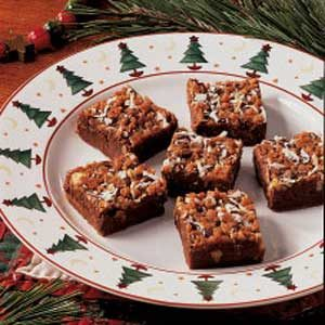 Fudgy Toffee Bars Recipe