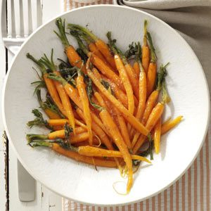 Glazed Spiced Carrots Recipe