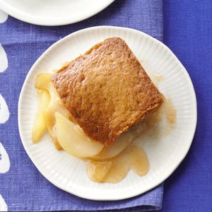 Pear Gingerbread Cobbler Recipe