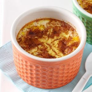 Baked Custard with Cinnamon