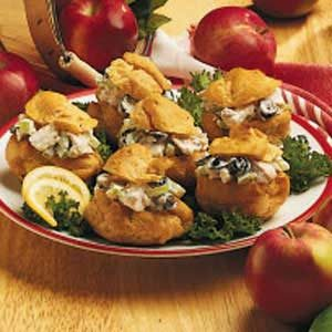Chicken Salad Puffs Recipe