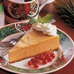 Chiffon Pumpkin Pie