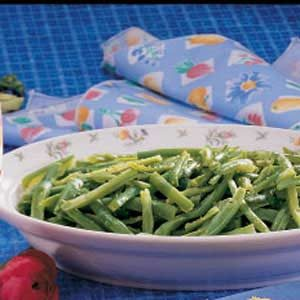 Basil Green Beans Recipe