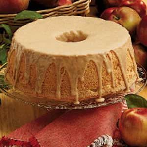 Cinnamon-Apple Angel Food Cake