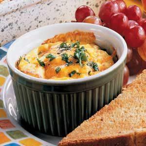 Cheesy Ham Cups Recipe