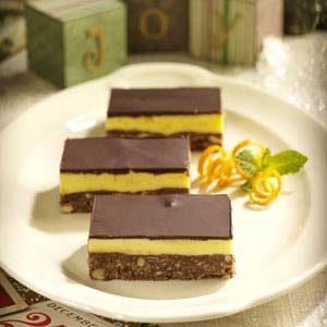 Orange Nanaimo Bars Recipe