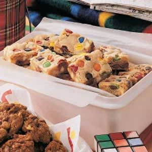 Golden M&M's Bars Recipe