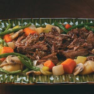 Stovetop Pot Roast Recipe