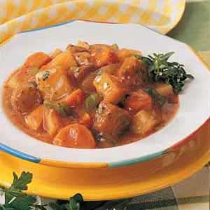 Homemade Italian Sausage Stew Recipe