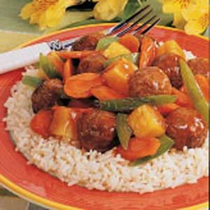 Sweet 'n' Sour Meatballs Recipe
