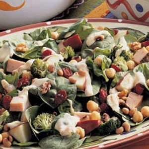 Two-Bean Turkey Salad Recipe