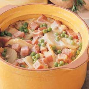 Potato Ham Bake Recipe